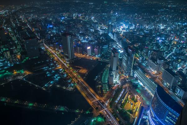 Yokohama from above