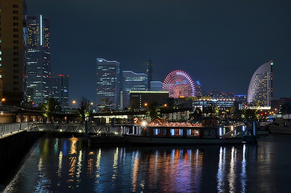 Yokohama - View from the marina