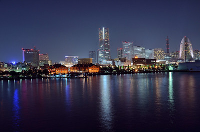 Yokohama - View from the harbour